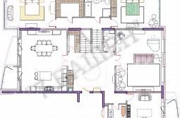 Продается шестикомнатная квартира без отделки
