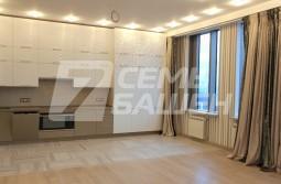 2-х комнатная видовая квартира в ЖК «ДОМ НА МОСФИЛЬМОВСКОЙ»