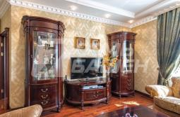 4-х комнатная квартира с отделкой и мебелью в классическом стиле в ЖК «МИРАКС-ПАРК»