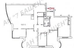 5-комнатная квартира свободной планировки в ЖК «МИРАКС-ПАРК»