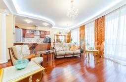 3-х комнатная квартира с классической отделкой в ЖК «МИРАКС-ПАРК»